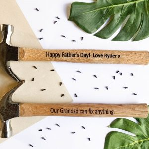 custom hammer engraved hammer gift- personalised gift zippay-personalised hammer-engraved hammer