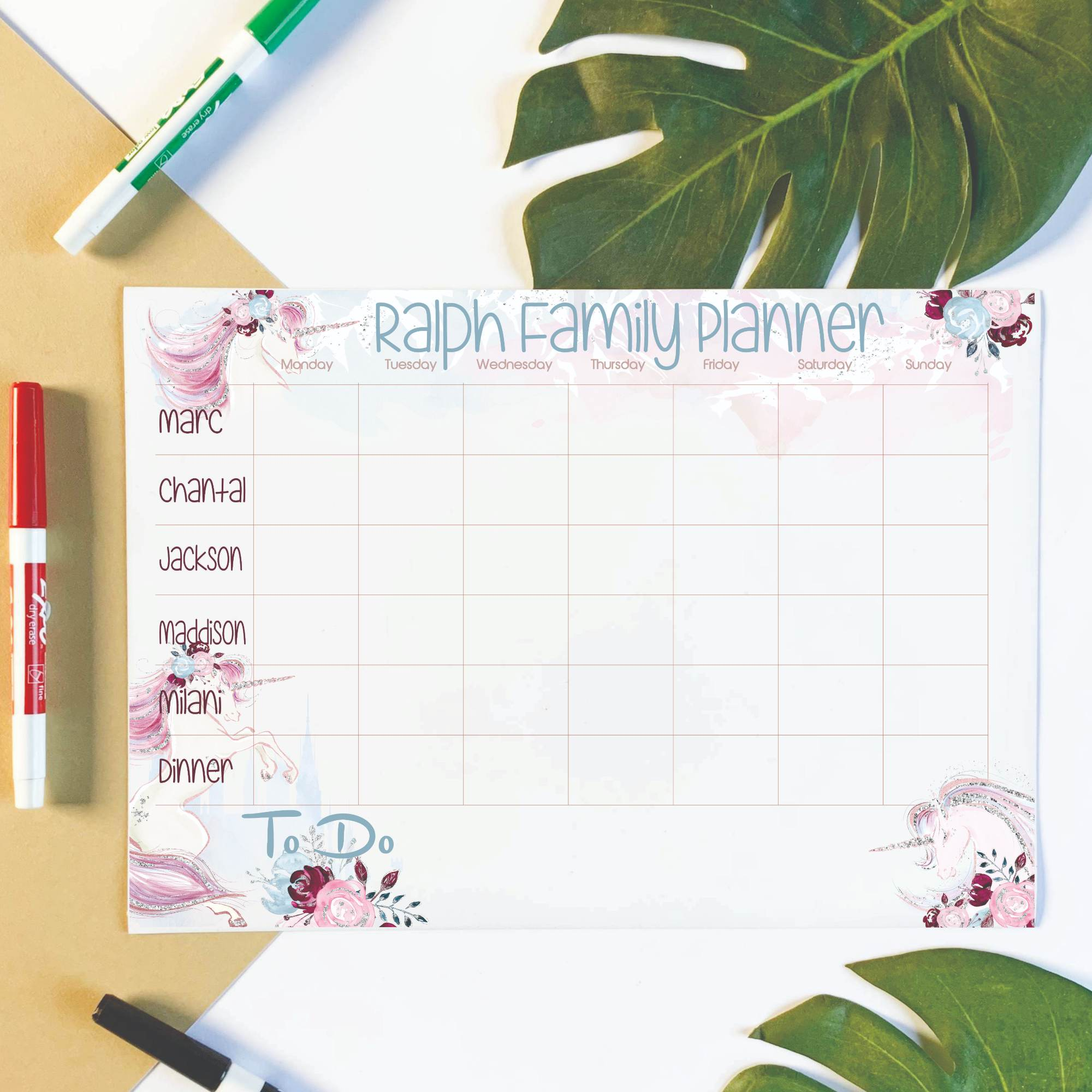 Personalised-Family-Planner