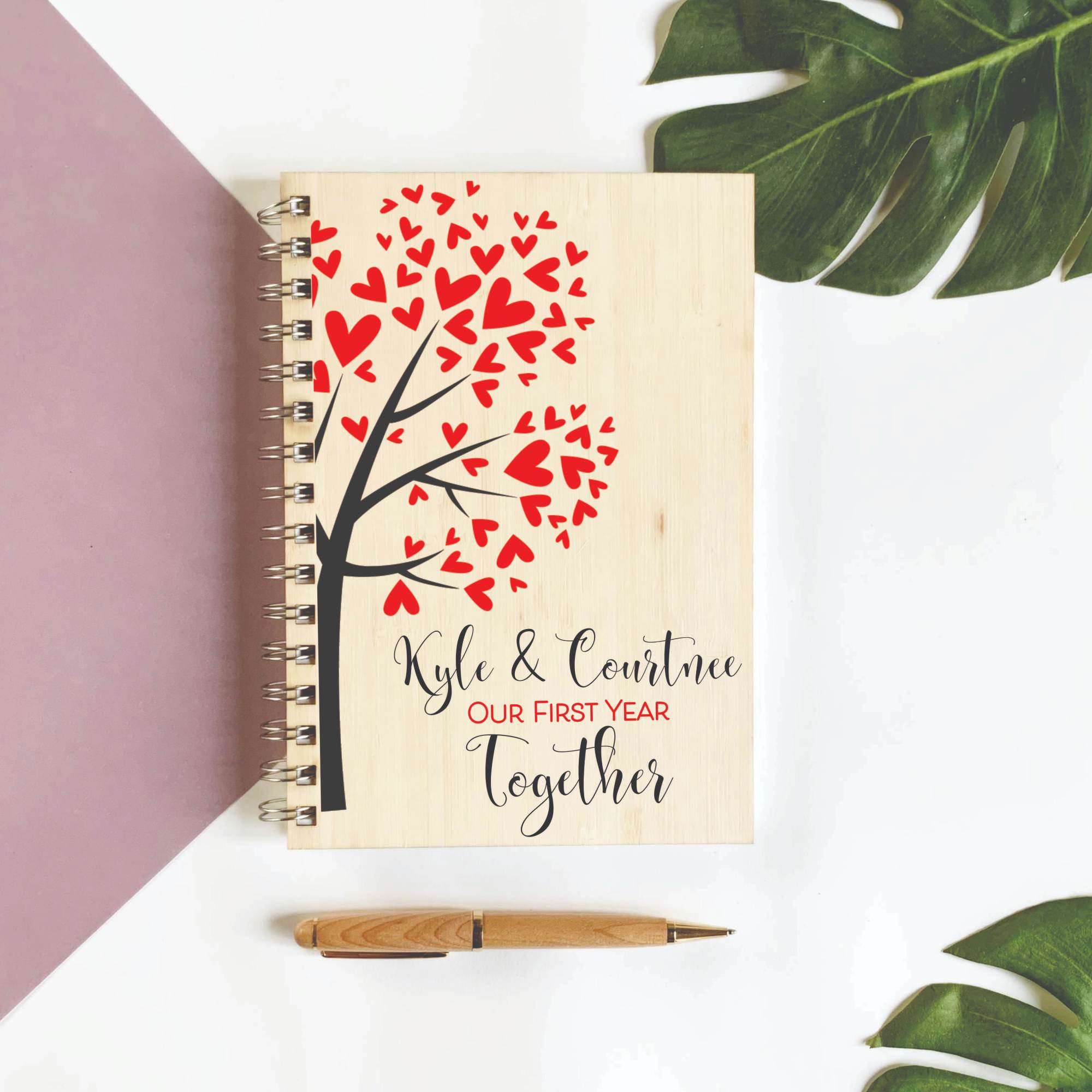 Customised-Diary-valentine's-day-gifts