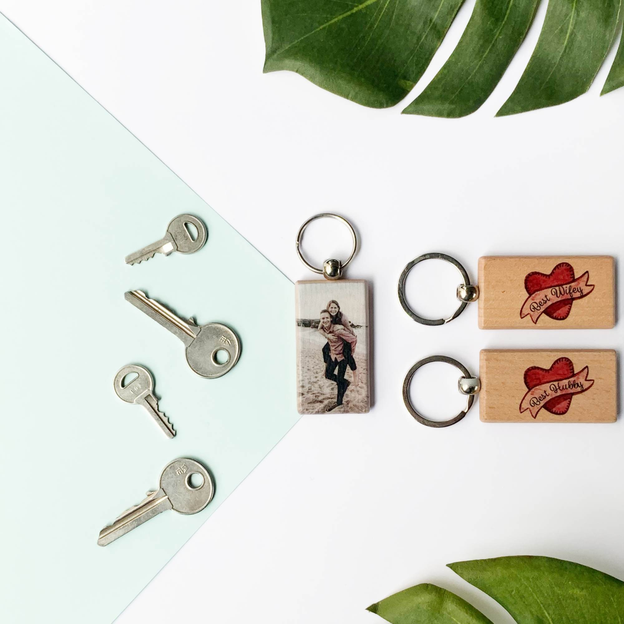 Personalised-Couple-Keyrings