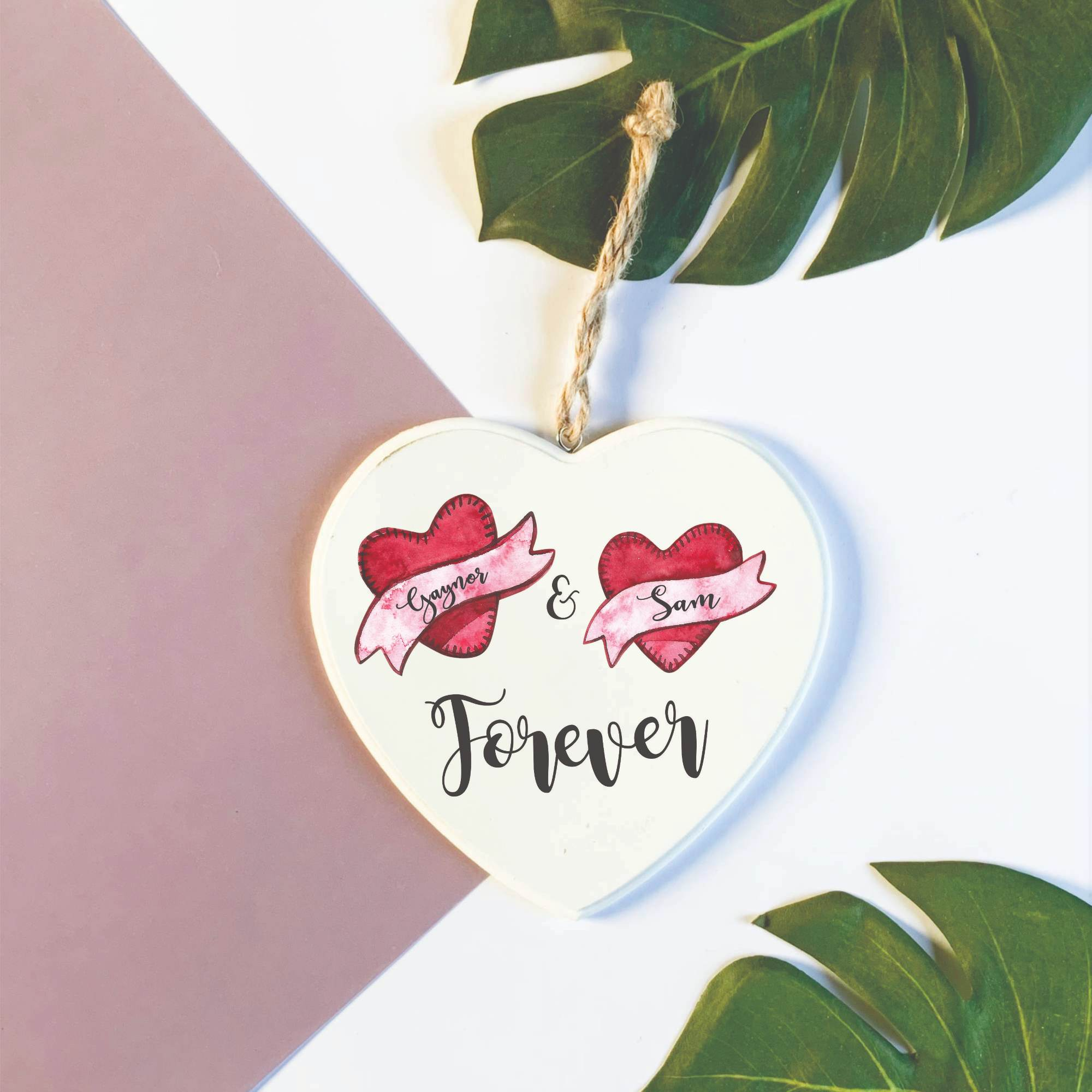 Forever Wooden Heart