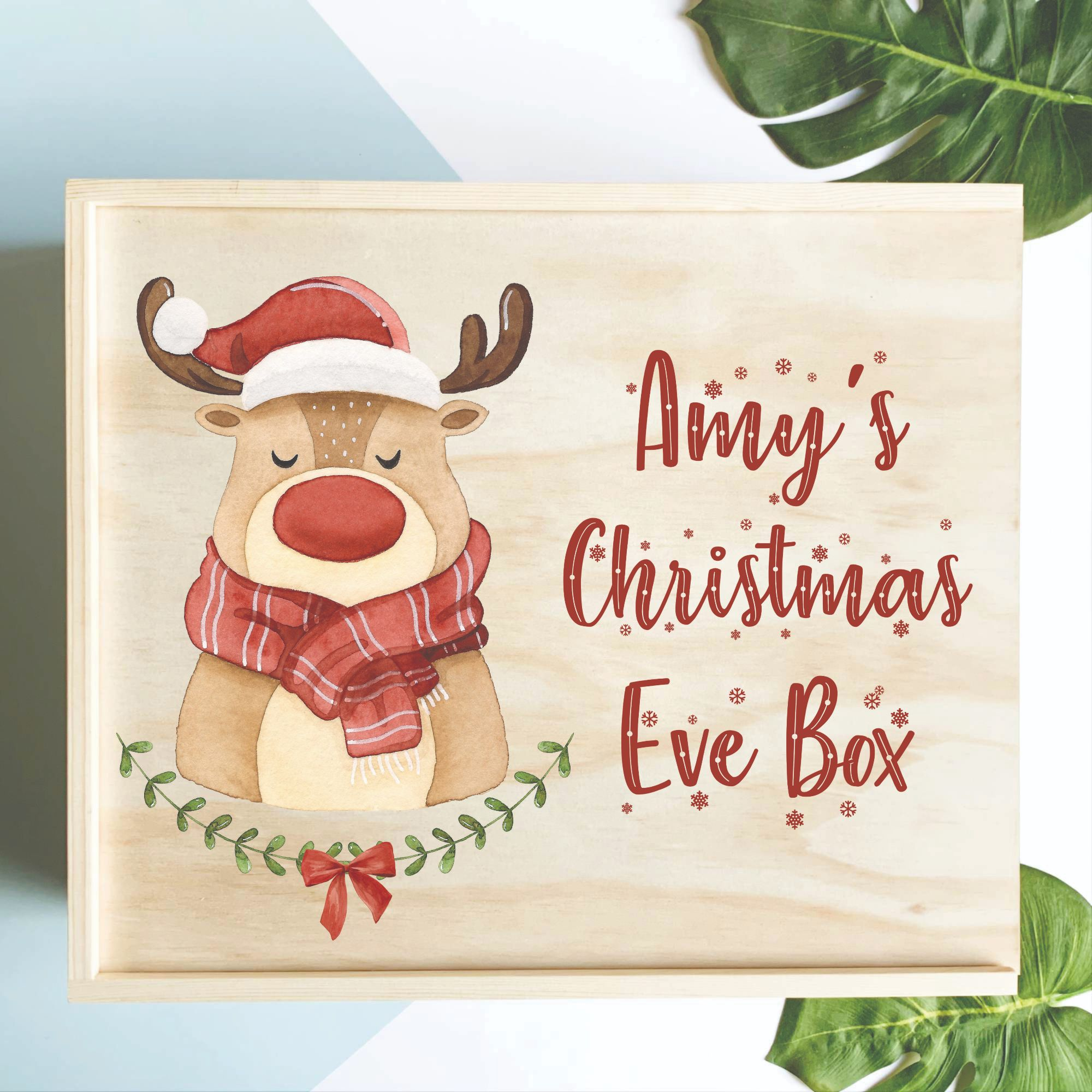 personalised-christmas-eve-box-australia-wooden-christmas-eve-box-personalised-christmas-box