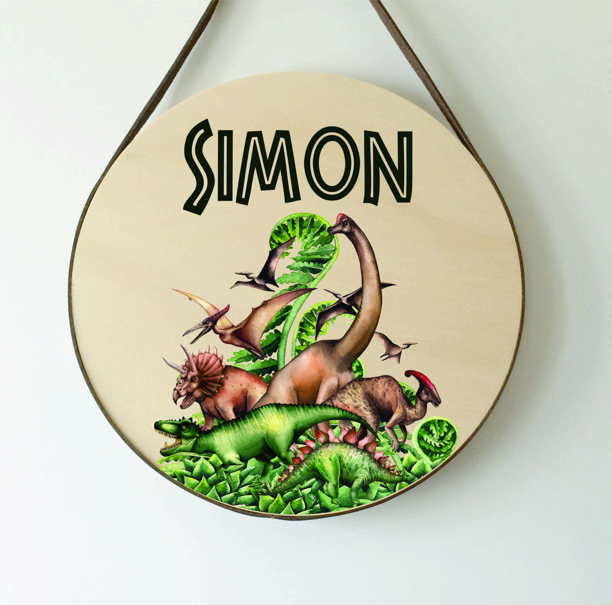 Name-plaques-Kids-name-plaque-Wooden-name-plaques-Childrens-name-sign-round-wooden-name-plaque