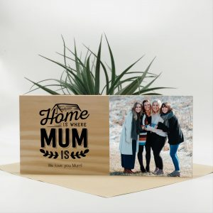 mum photo block, mothers day photo gift