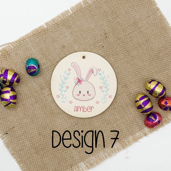 Easter-Tag-wood-gift-tag-Personalised-easter-tag