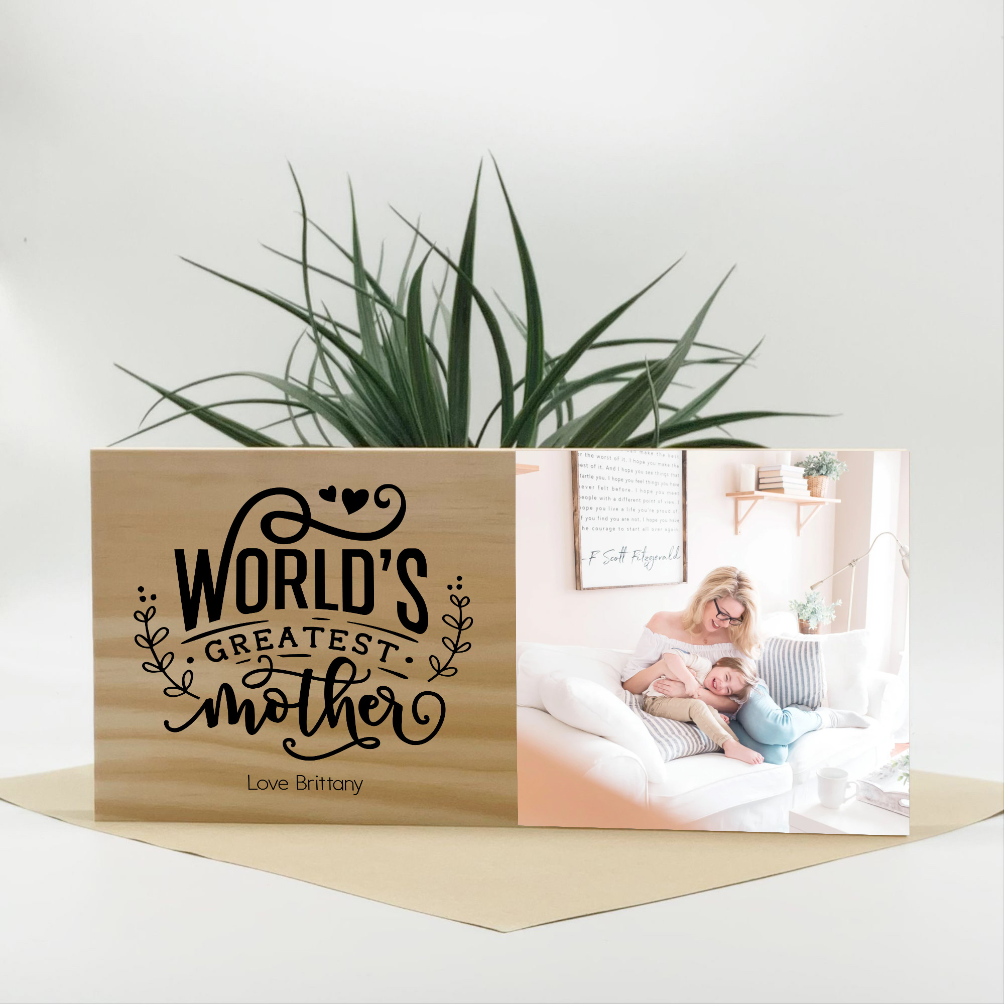 moothers day photo gift, personalised mothers day gift