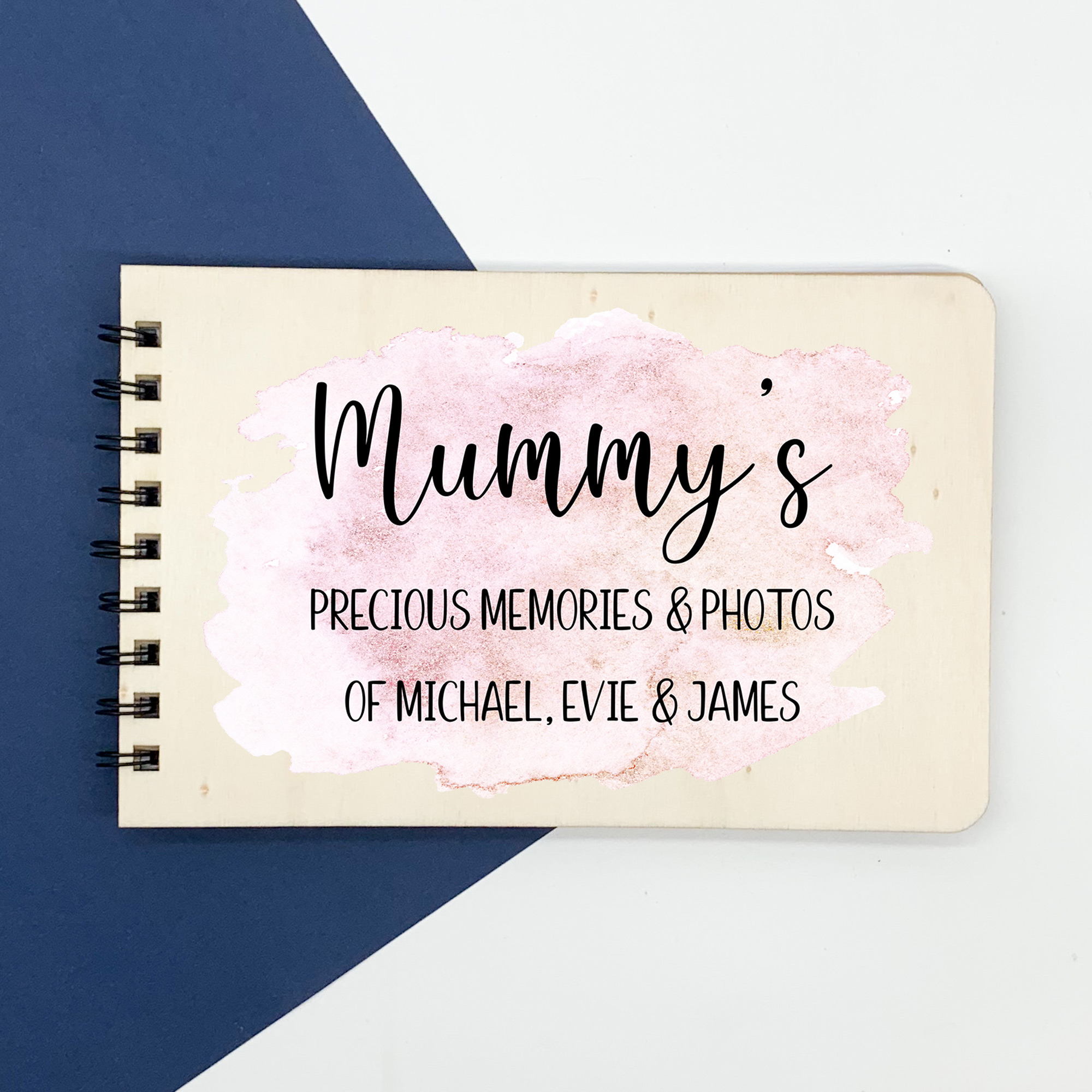 mothers day album, personalised memories book