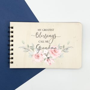 grandma photo album, personalised album