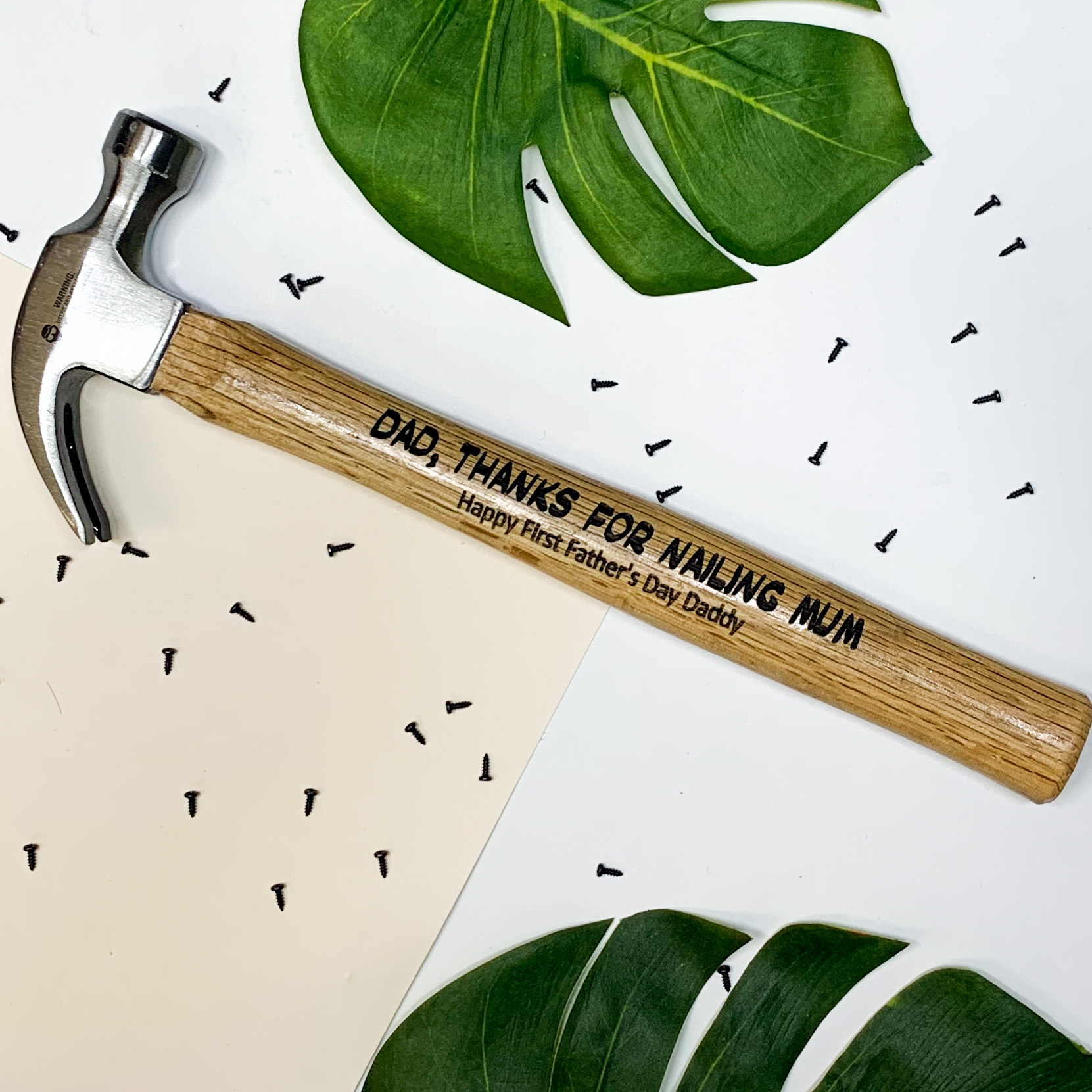 fathers-day-gifts-personalised-hammers