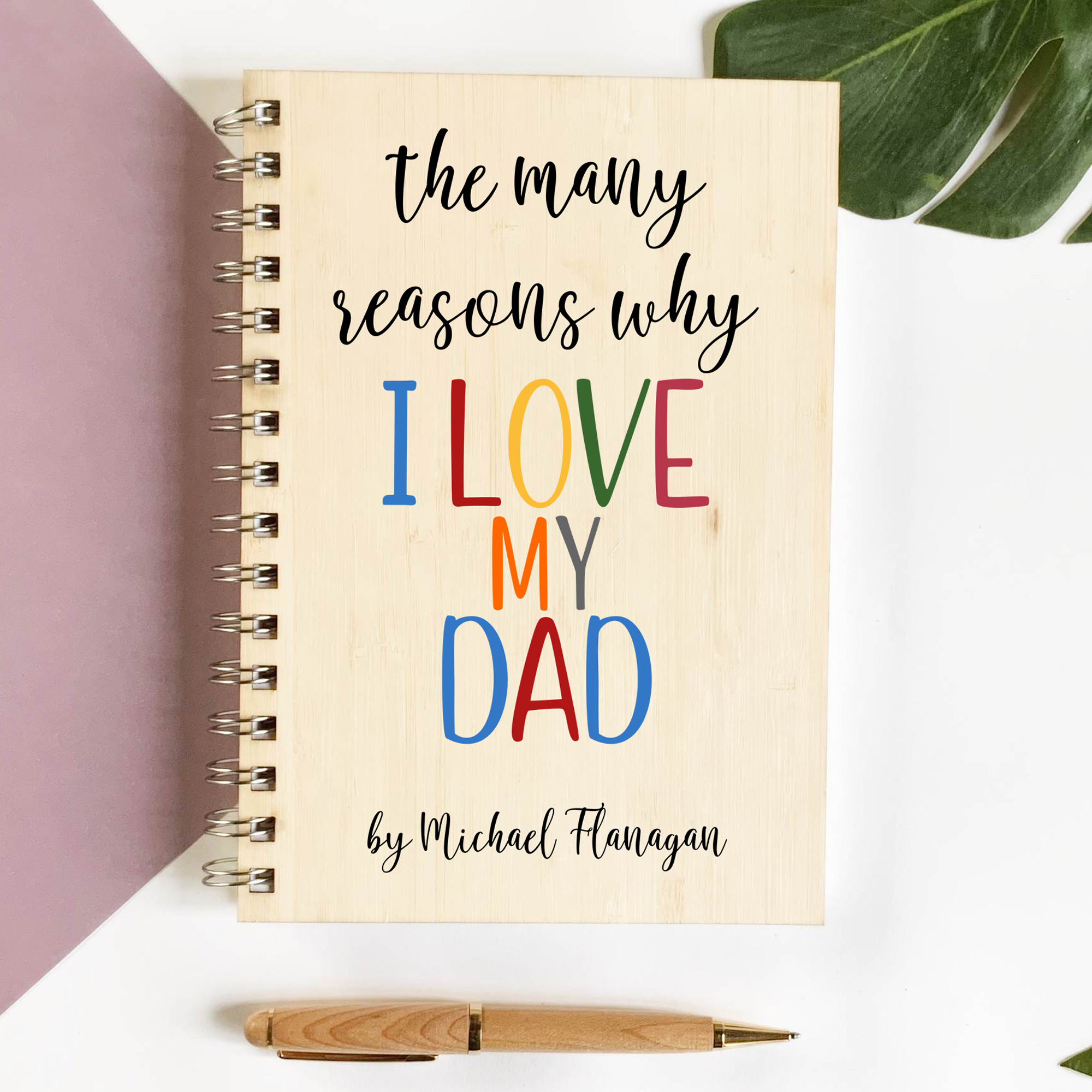 personalised memory book, Custom photo book, fathers day book