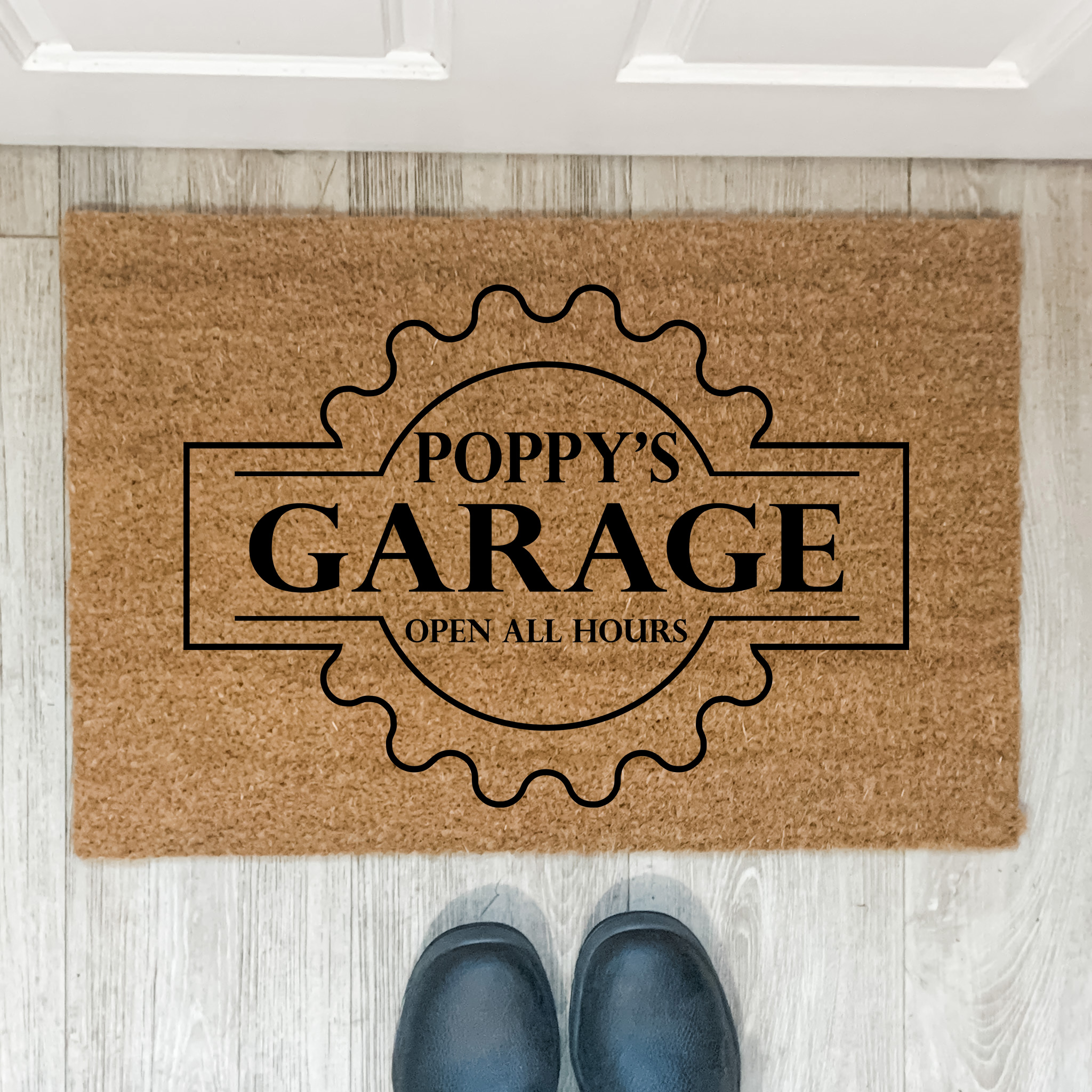 personalised door mat, printed door mat