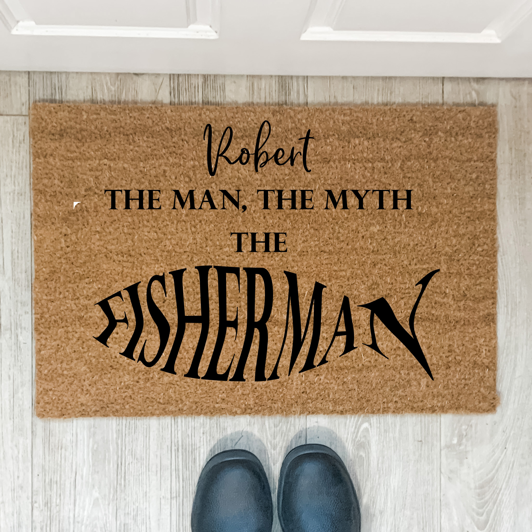 custom door mat, personalised door mat