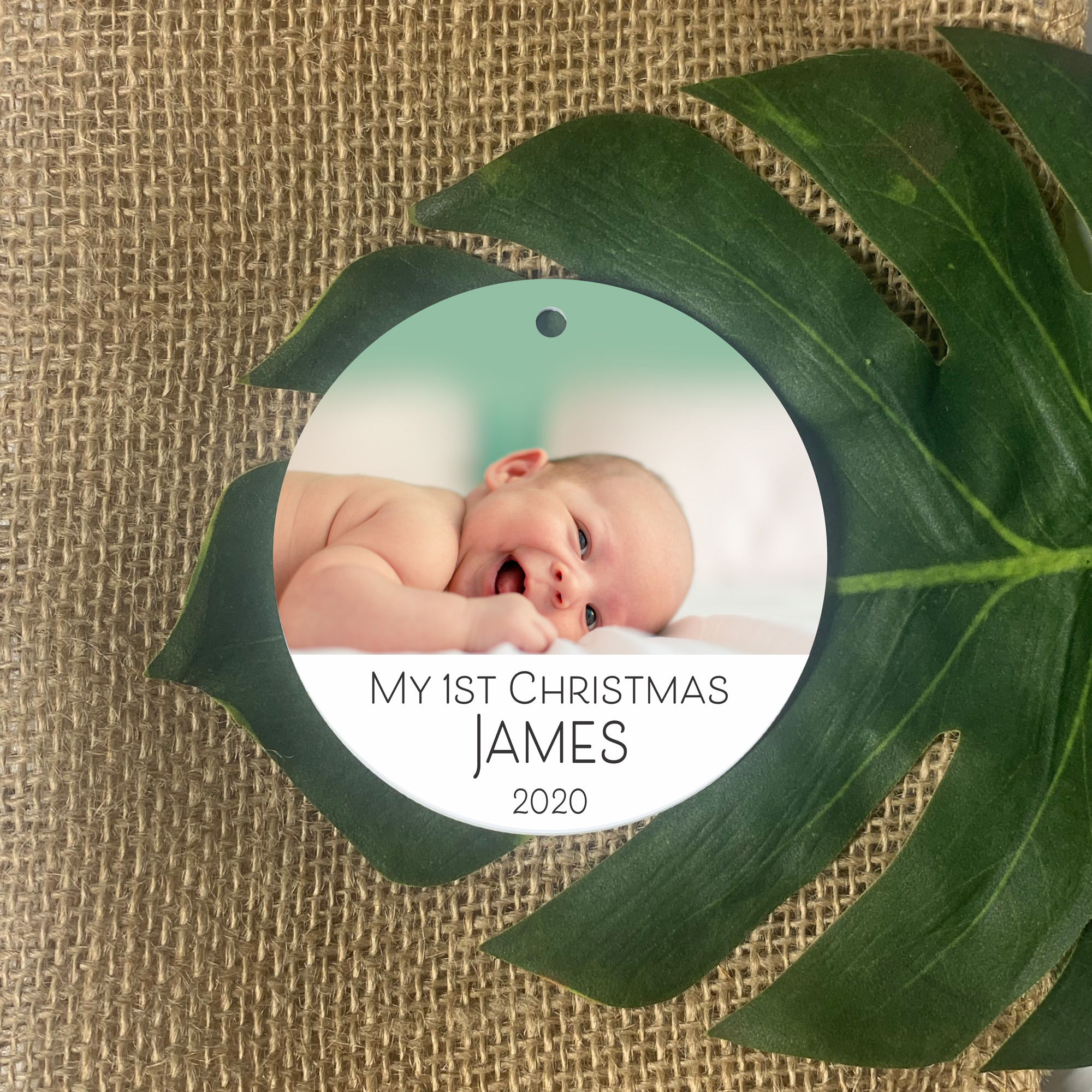 first-christmas-ornament-photo-ornament-personalised-christmas-baubles