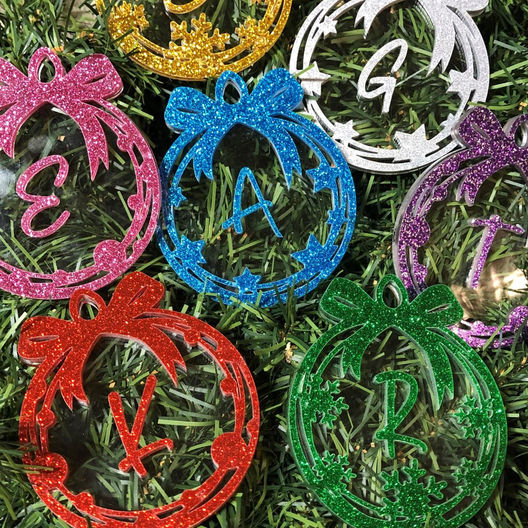 glitter-acrylic-ornaments