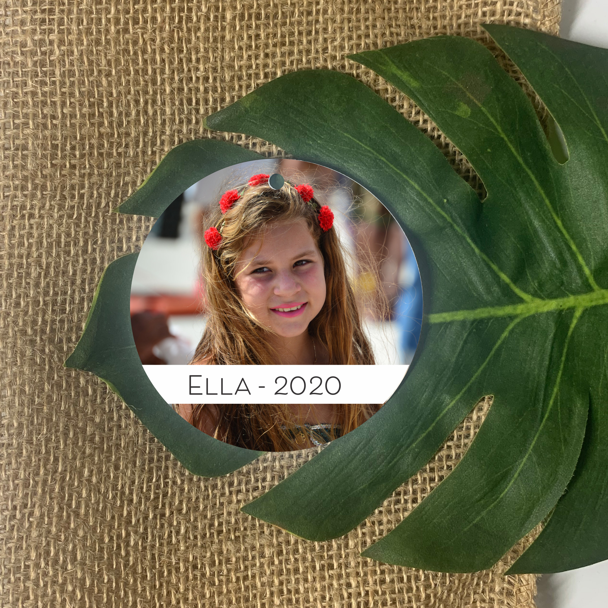 photo ornament, personalised ornament