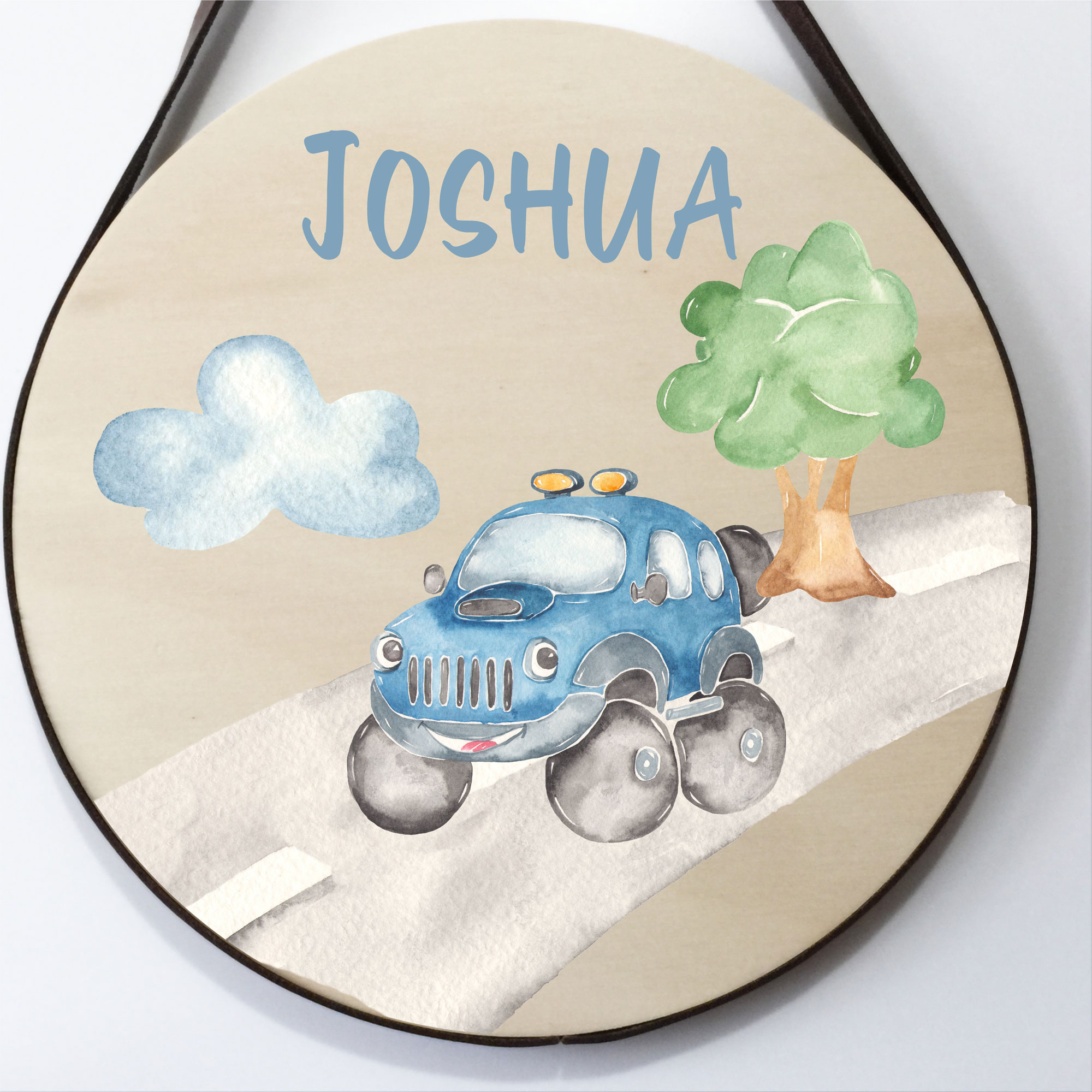 kids name plaque, personalised name sign