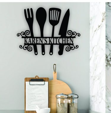 personalised kitchen sign, mothers day sign