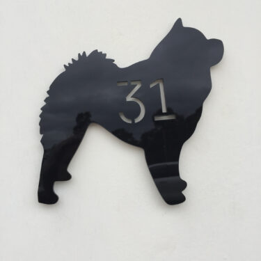 house numbers, address sign