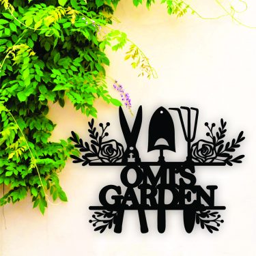 personalised garden sign, mothers day sign
