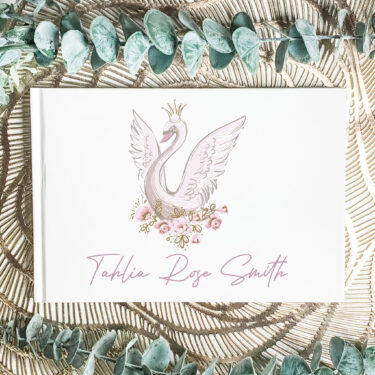 christening guest book, naming day guest book