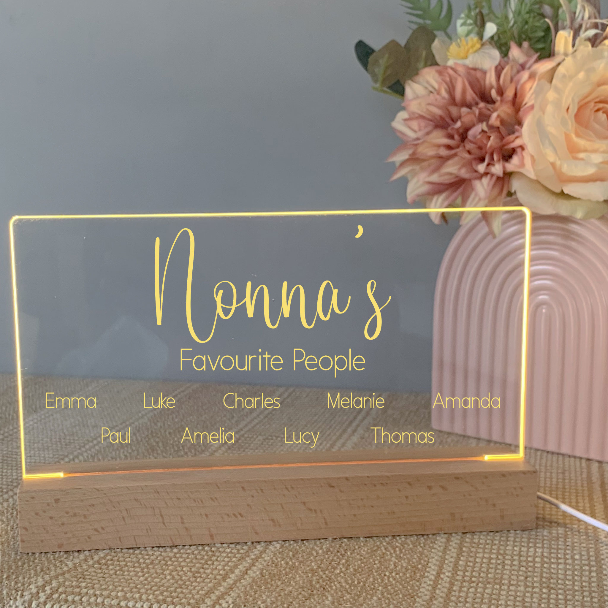 personalised mothers day sign