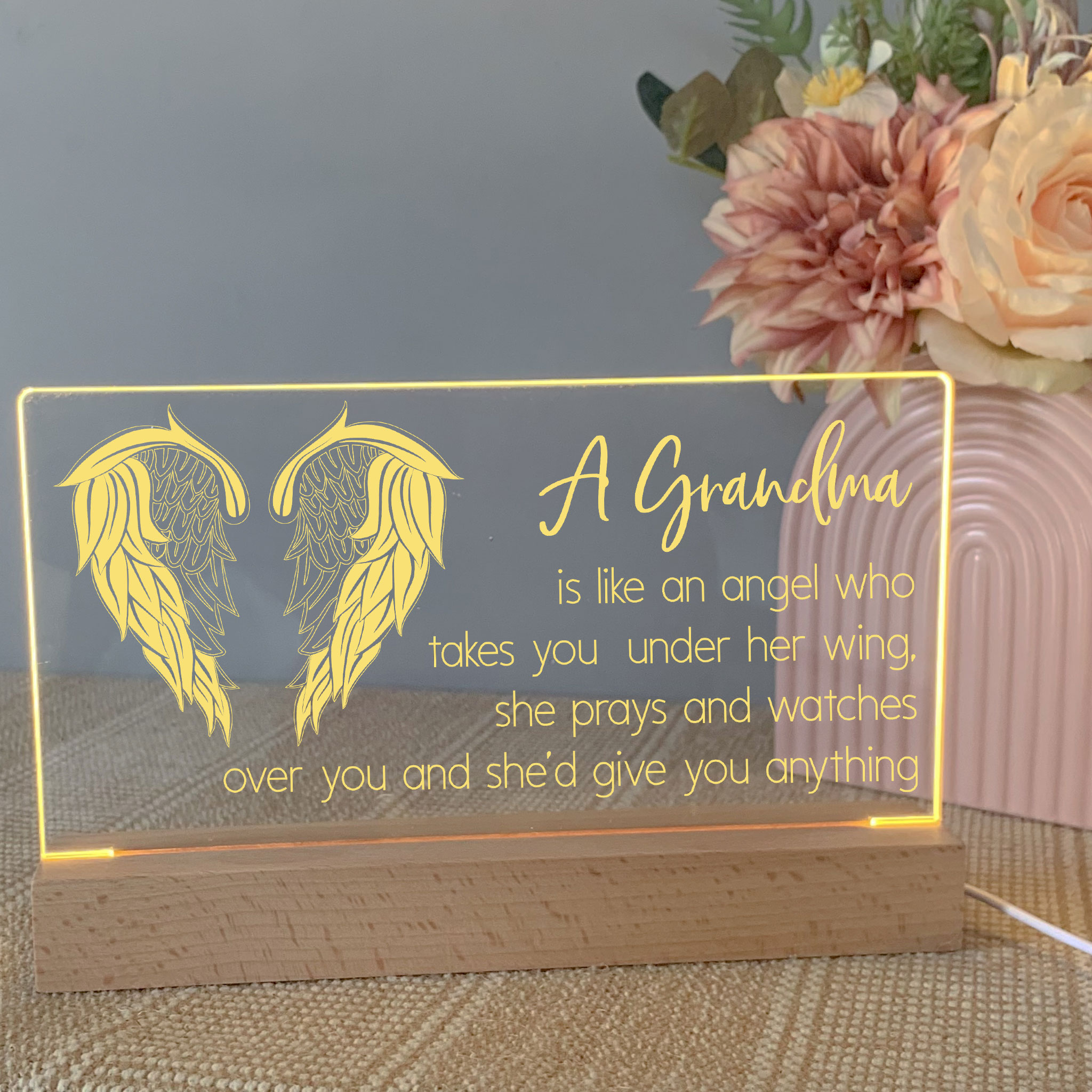 personalised mother's day sign