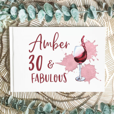 Custom-Guest-Book-30-and-fabulous
