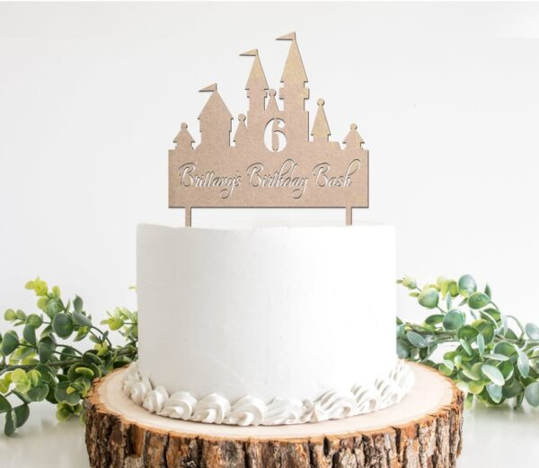 Castle-cake-topper