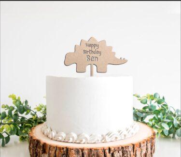 dinosaur-cake-topper