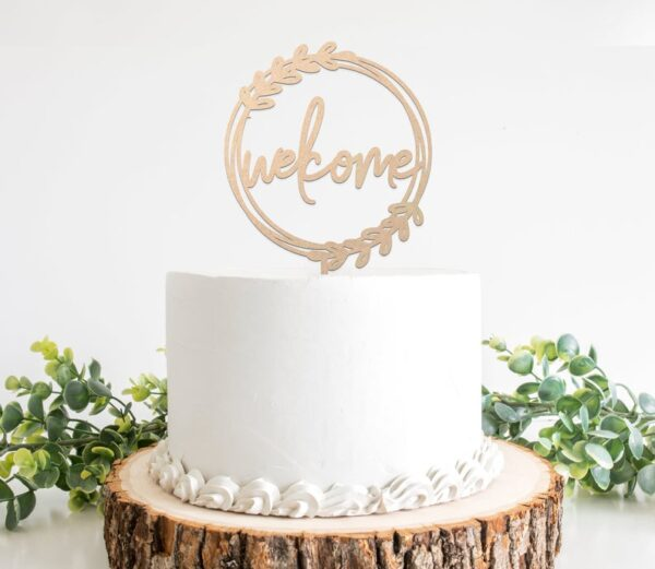 welcome-cake-topper