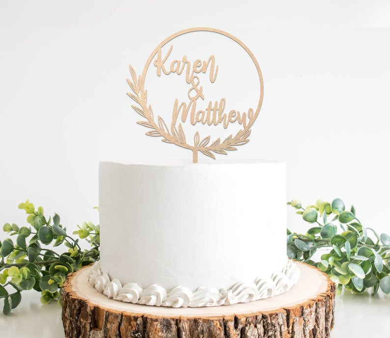 engagement-cake-topper