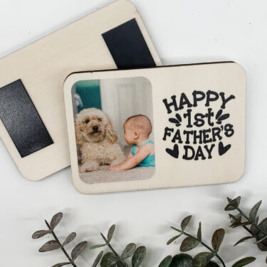 1st fathers day magnet