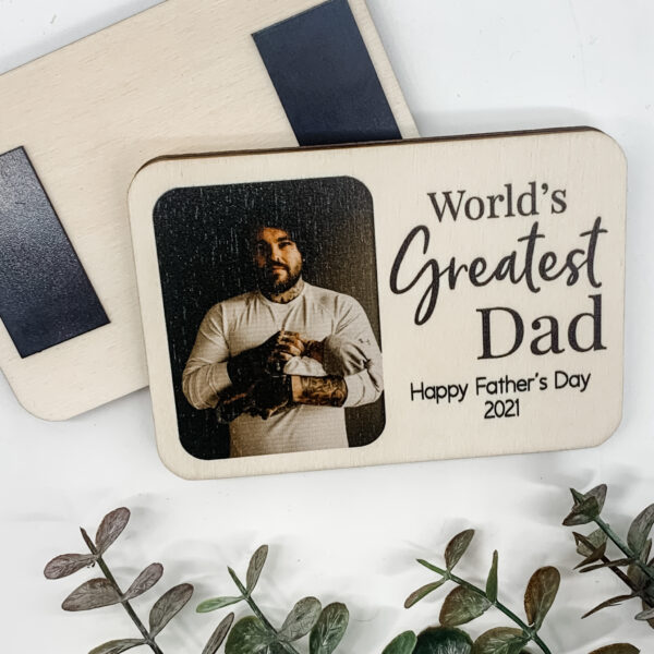 photo magnets. Father's day magnets