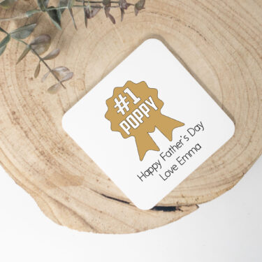 fathers day coasters. personalised coasters