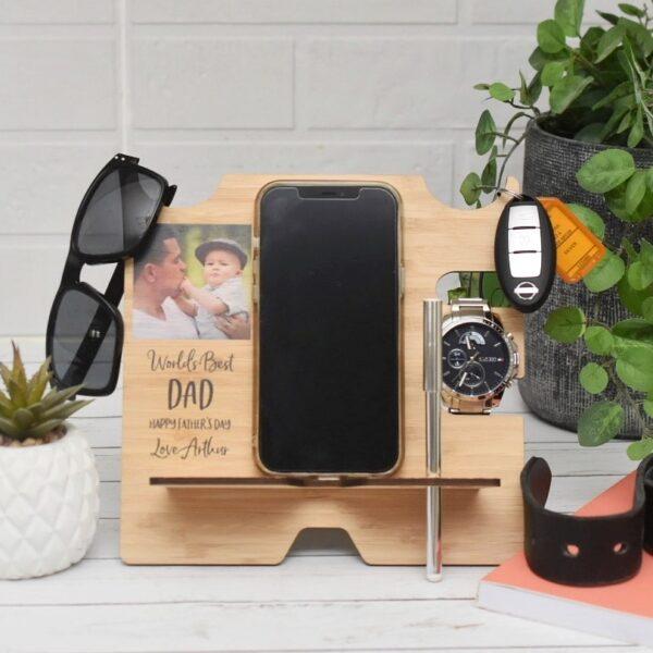man stand, desk phone holder