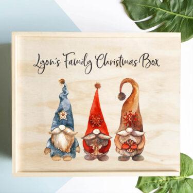 christmas eve box, large christmas box
